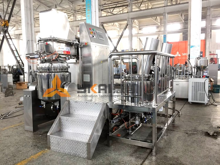 Two paste making machines are sending to Indonesia