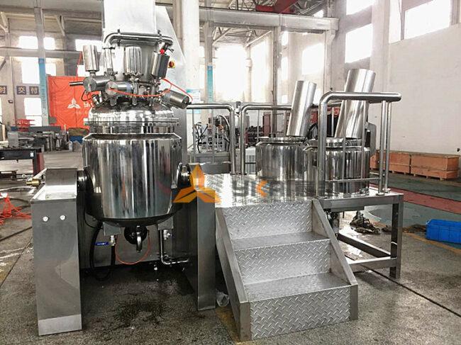 Features of vacuum emulsifying mixers