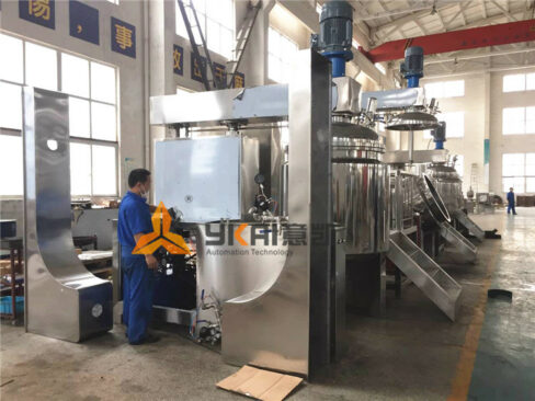 high shear emulsifying machines