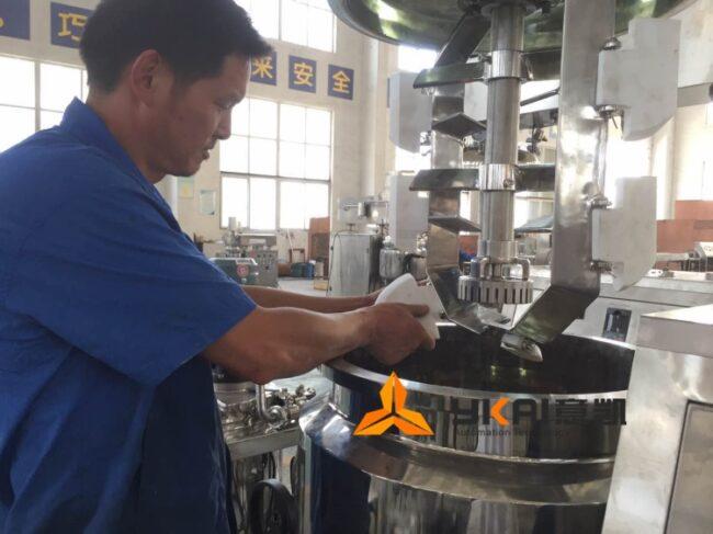 ZJR emulsifying mixing machine
