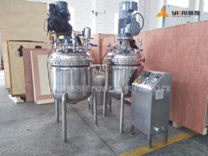 Emulsified mixing tank