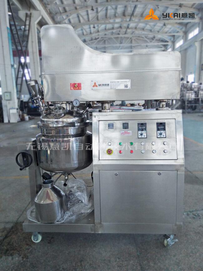 50L vacuum homogenizing emulsifier50L vacuum homogenizing emulsifier
