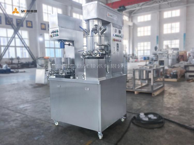 Laboratory double planetary power mixer