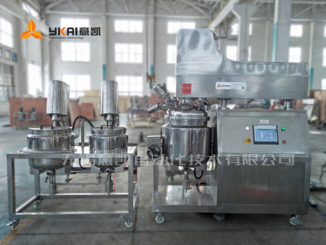 PLC automatic vacuum emulsifying machine