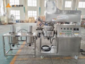 Ointment vacuum emulsifier