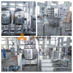 Vacuum emulsifier equipment 1