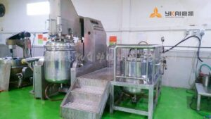 Vacuum emulsifier equipment 2