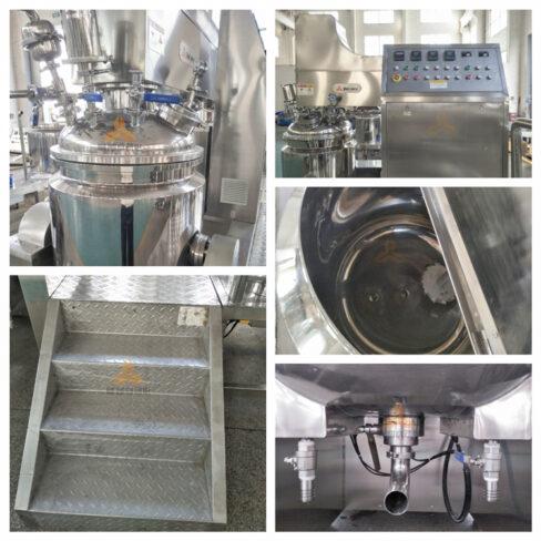 ZJR-150 vacuum emulsifier - detail - Czech Republic