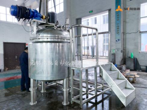MF-1300 vacuum emulsion tank
