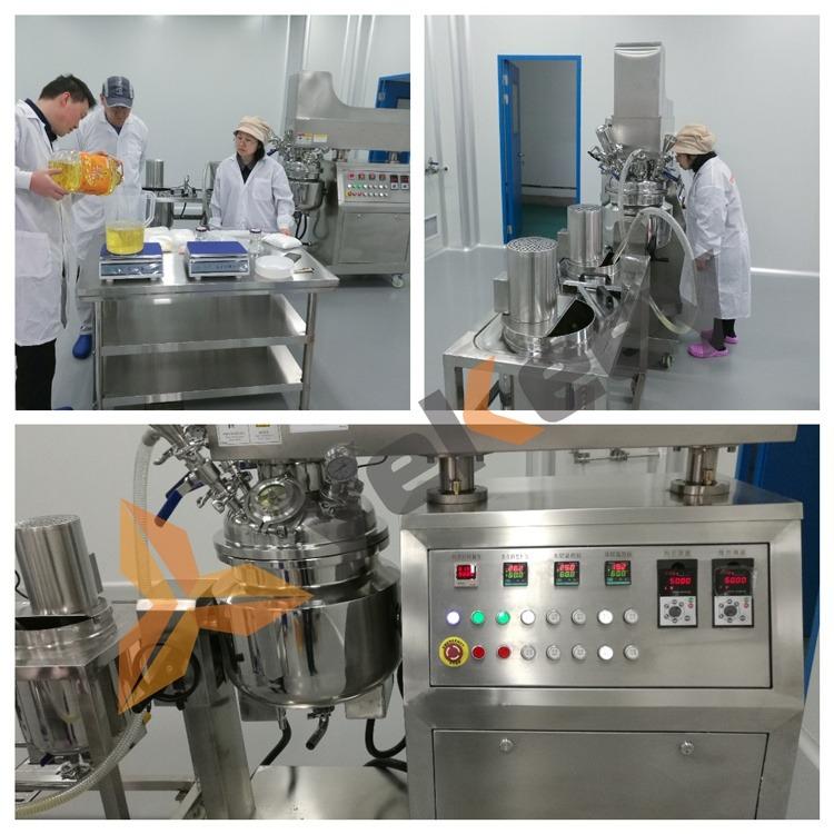 Mayonnaise emulsification test machine 11
