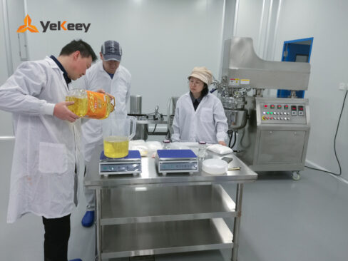 Mayonnaise vacuum emulsification test machine
