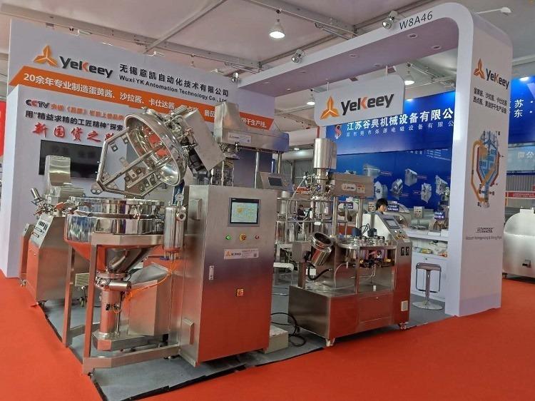 Exhibiting emulsification equipment