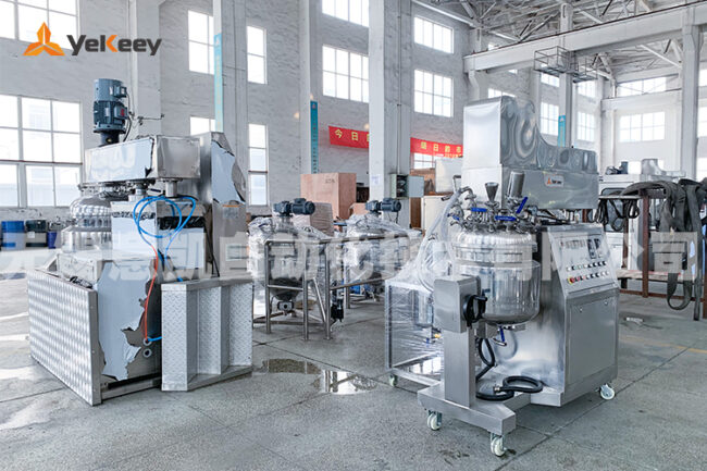 High shear vacuum emulsifier delivery