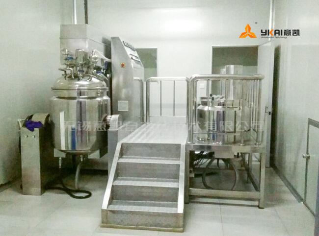 200 kg vacuum homogenizer