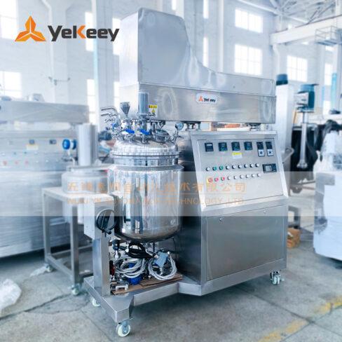 ZJR-100-button-free oil pan-vacuum emulsifier