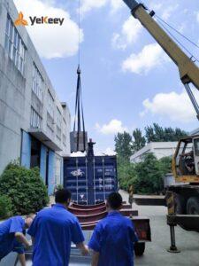 2.5T vacuum emulsifier delivery 6
