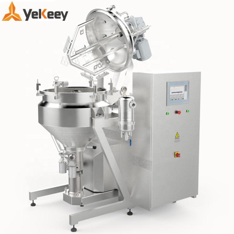 vacuum homogenizing emulsifying mixer