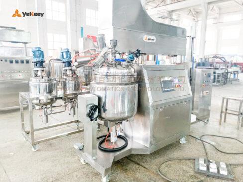 ZJR-100-vacuum emulsifying mixer
