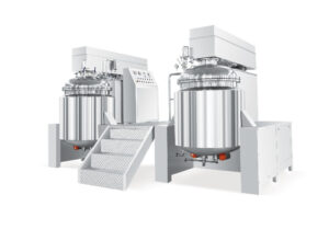 Duplex emulsifying equipment with multifunctions