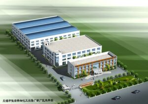 Modern production base with 20000 square meters