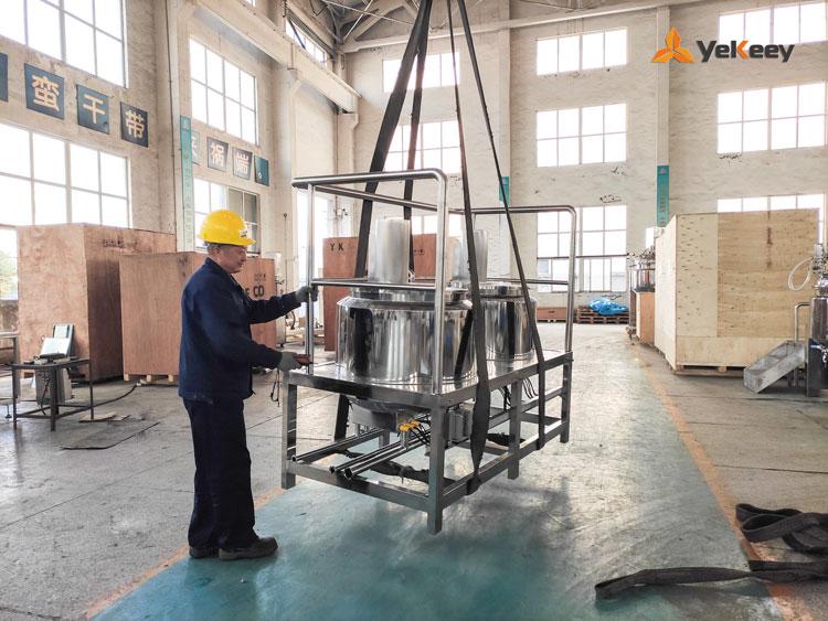 delivery of emulsifier equipment