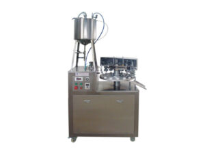 instant glue soft tube filling and sealing machine