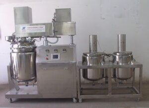 vacuum homogenizing emulsifier mixer