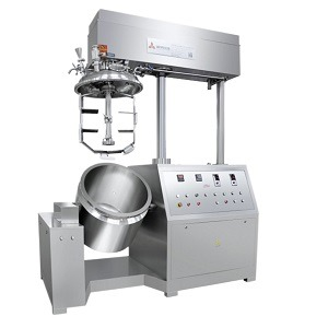 Ointment emulsifying machine