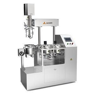 Cosmetics Lab Vacuum Emulsifying Machine