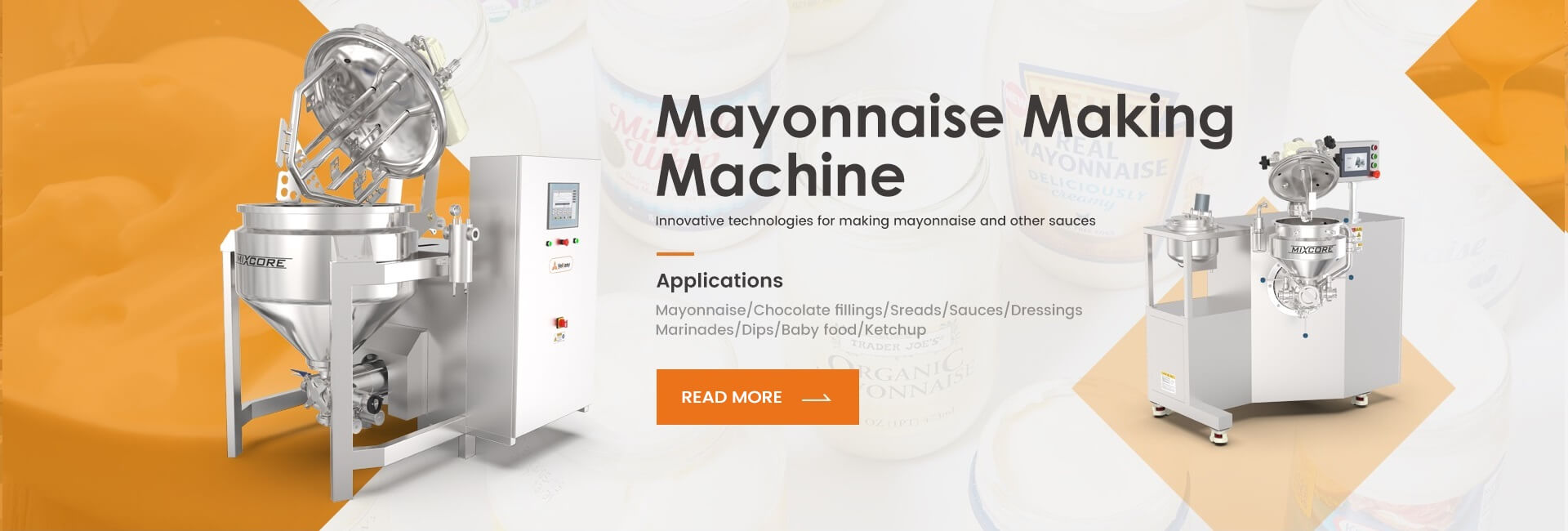 mayonnaise making machine
