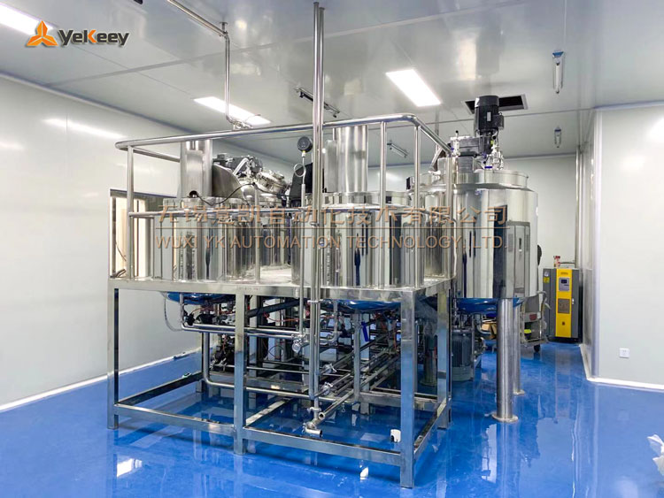 daily chemical products production machine