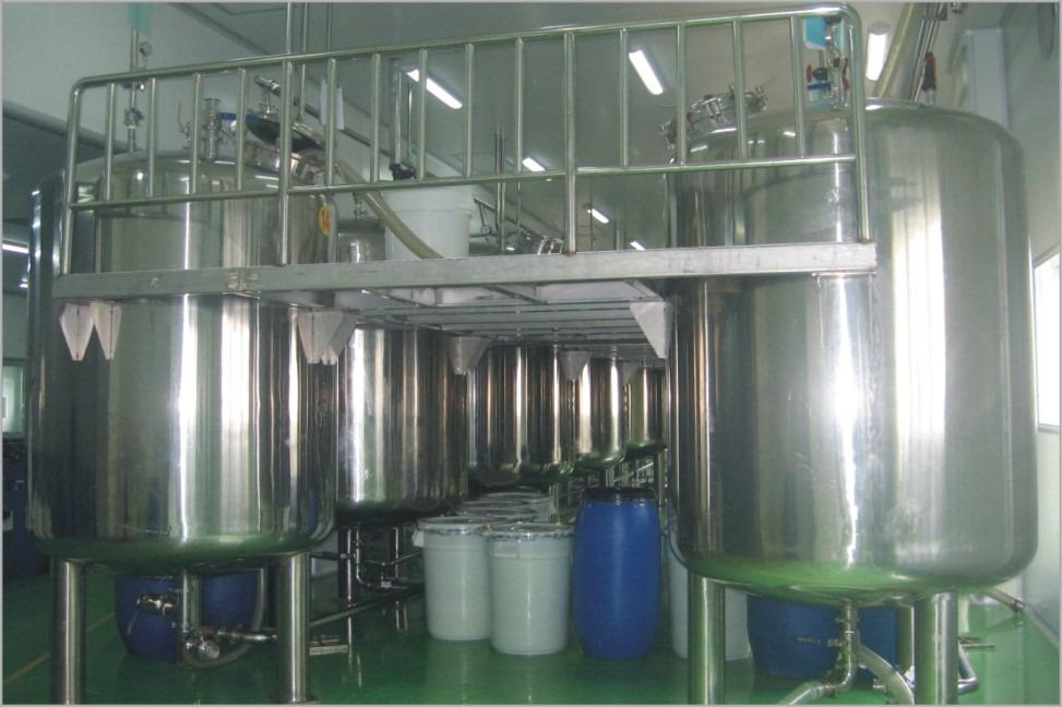 Liquid Washing Homogenizing Mixer