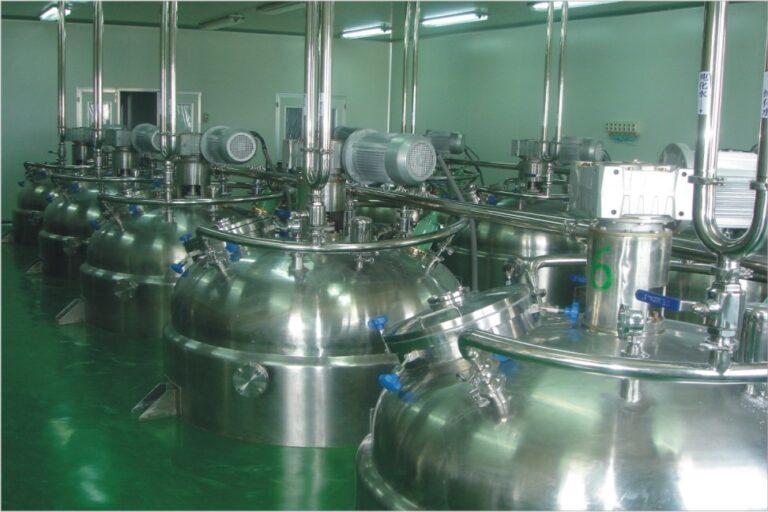 liquid detergent production line