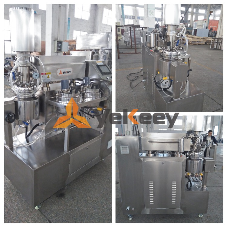 laboratory vacuum emulsifier
