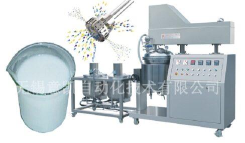 Silicone oil emulsifying machine