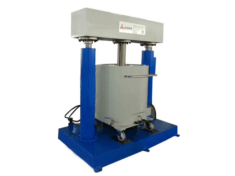 Supporting Hydraulic Discharge Machine -2