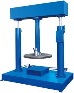 Supporting Hydraulic Discharge Machine