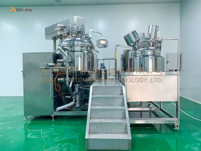 emulsifying mixing machine