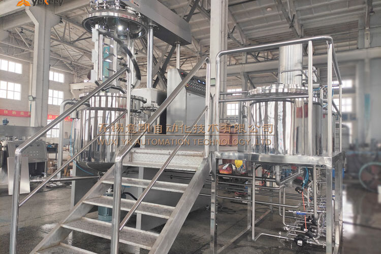 food sauce industrial emulsifying mixer