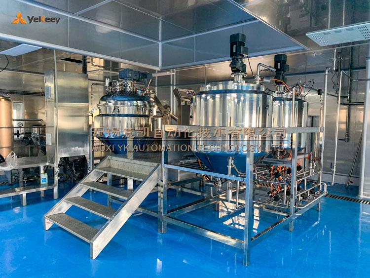 vacuum emulsifying homogenizer