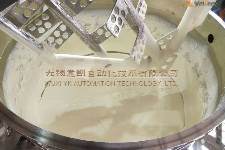 The effect of mayonnaise out of the pot after emulsification 2