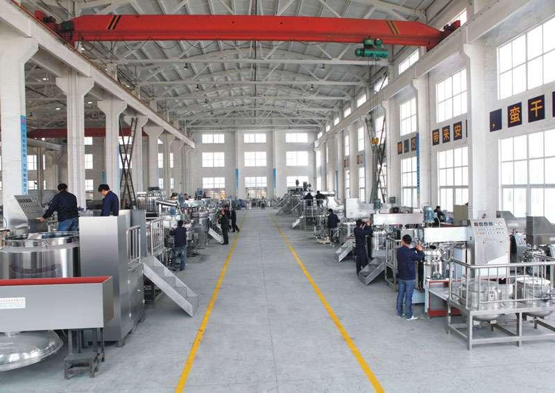 Vacuum emulsifying machine manufacturer