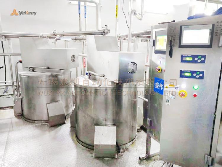 mixing storage tanks